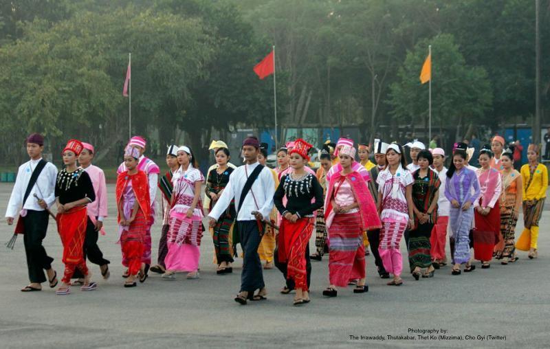 8 Major Ethnics People in Myanmar
